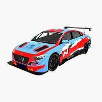 Hyundai Elantra N TCR Lukoil Racing Team
