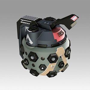 Apex Legends Octane frag grenade 3D