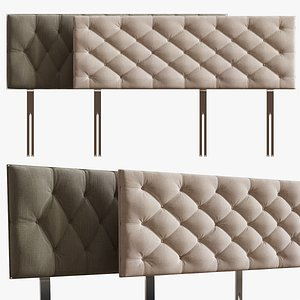 3d headboard bed
