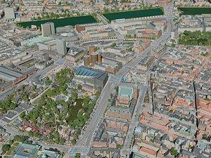 3D copenhagen city