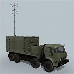 Krasuha-4 Command vehicle