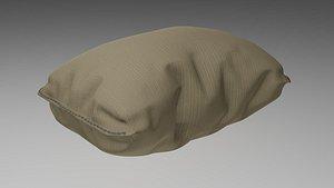 3D Sandbag model