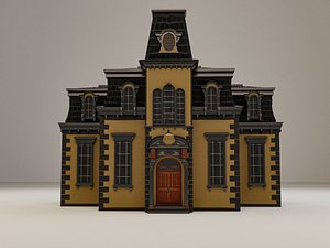3D Victorian Houses