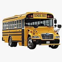 2020 Blue Bird Vision School Bus