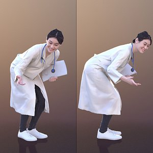 young doc doctor 3D model