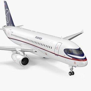 Sukhoi Superjet 100 with Saberlets 3D