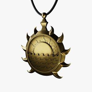 Sunlight Medallion 3D