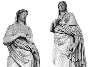 3D Rome Sculpture