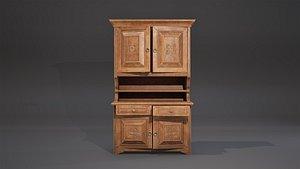 3D cabinet furniture