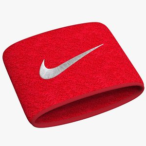 3D Wrist Towel With Logo Embroidery model