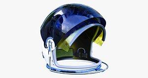 Astronauts helmet 3D model