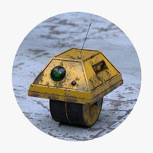 PF09 droid robot 3D