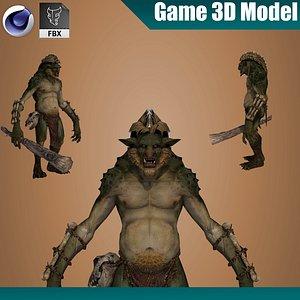 Warrior Baron 3D model