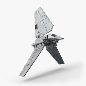 3D shuttle imperial model