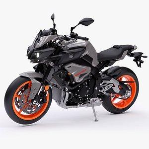 Yamaha MT-10 2020 3D model