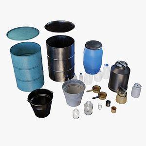 3D Vessels Asset Pack