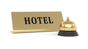 Hotel Bell 3D model
