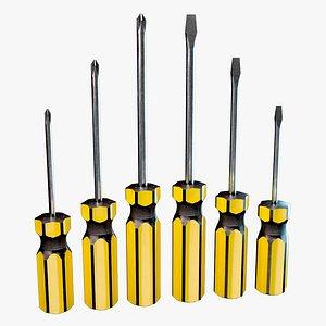 classic screwdriver 3D