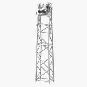 crane wa frame 1 3D model