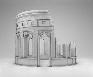 ruins greek model