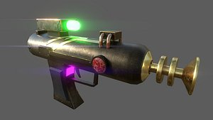 Laser Gun - Rick and Morty 3D model