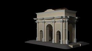 arch city 3D model