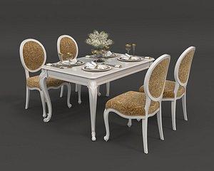 3D table european