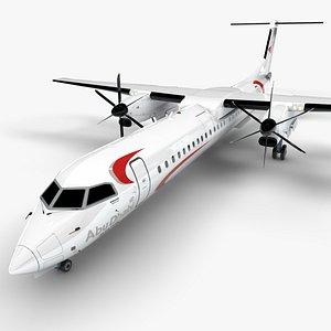 Abu Dhabi Aviation Bombardier DHC-8 Q400 Dash 8 L1501 model