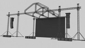 truss 3D