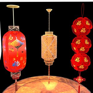 red lantern 3D model