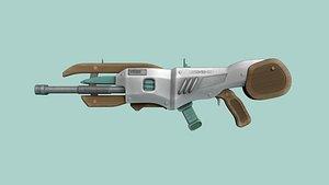 weapon gun sci 3D model