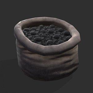 sack coal 3D