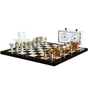 3D chess board model