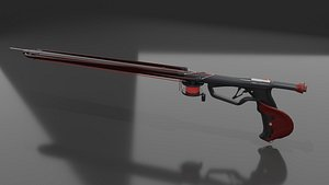 speargun gun spear 3D