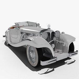 3D mercedes 540 k
