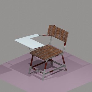 lecture chair 3D model