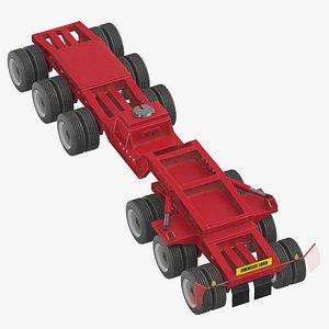 3D trail king jeep 6 model