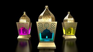 3D model Ramadan Lantern