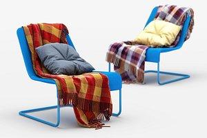 3D model loksta chair ikea