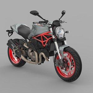 Ducati Monster 821 2017 3D model