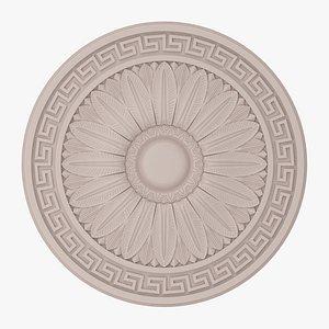 3D Classic Ceiling Medallion 13