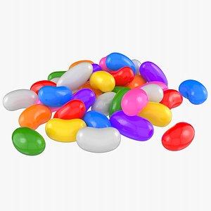 jelly bean 3D model