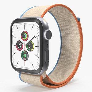 3D model Apple Watch SE Silver with Sport Loop