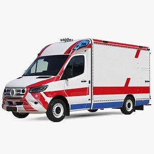 Ambulance Vehicle 3D model