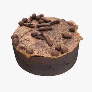 3D chocolate caramel
