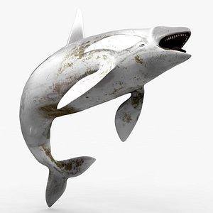 3D model killer whale kill