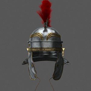 helmet helm roman 3D model
