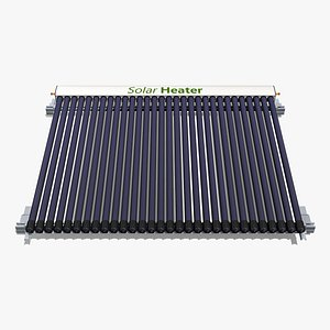 30 Tube Solar Water Heater model