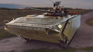 tank vehicle 3D