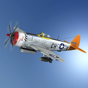 Republic P-47D Thunderbolt - Helen Jo model